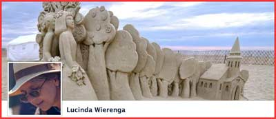 "Lucinda ""sandy feet"" Wierenga"
