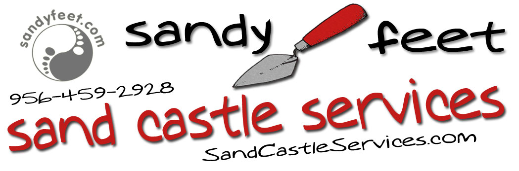 sandy feet sand castle services
